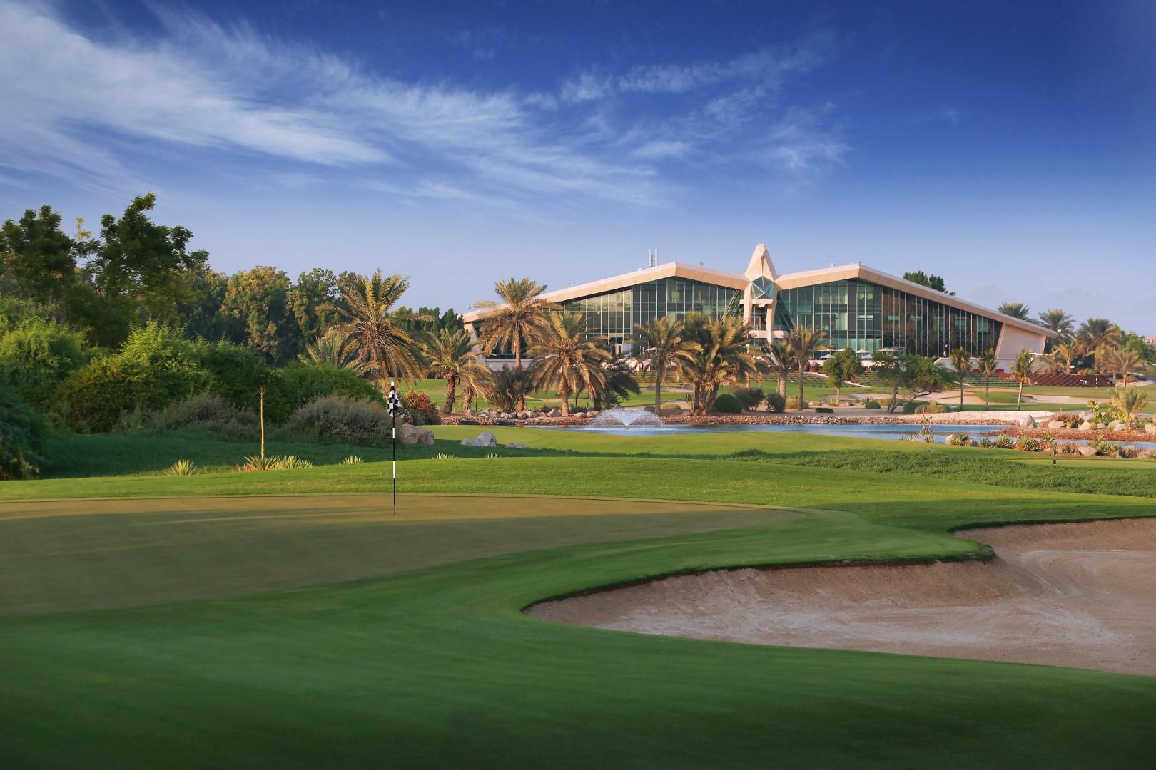Abu Dhabi golf cours