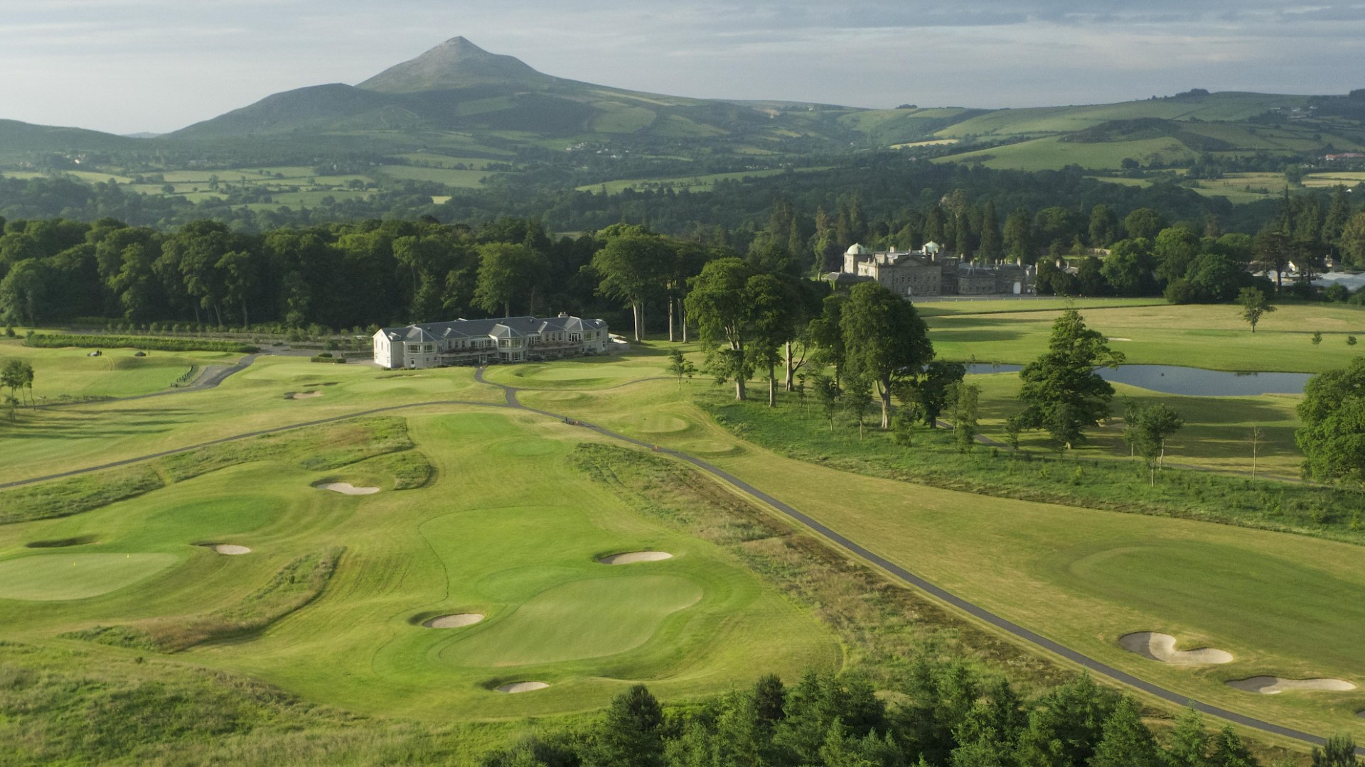 Clubhouse at Powerscourt Golf Club